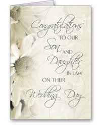 son and daughter in law wedding congratulations card son and Wedding Card Verses For Son And Daughter In Law son and daughter in law wedding congratulations card wedding card messages for son and daughter in law
