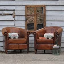 leather club chairs vintage. Vintage Leather Club Chairs I