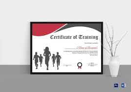 Fun Run Certificate Template Certificate Of Running Templates 5 Word Psd Ai