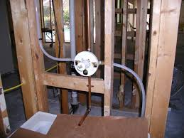 show pictures of plumbing in wall for shower tub combo