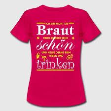 Jga Brautbegleitung Frauen T Shirt Schwarz In 2019 Sprüche