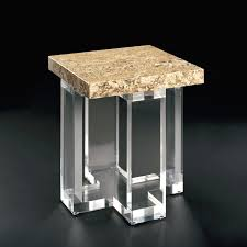 Awesome Acrylic Stool End Table