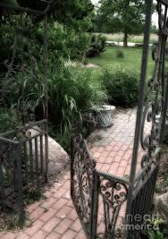 Small Picture French Cottage Garden Arbor And Gate French Cobblestone Brick