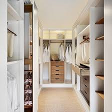 Modern Style Small Walk In Dressing Room Ideas With Grey Shelves Small Dressing Room Design Ideas