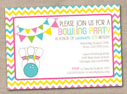Free Bowling Party Invitation Template Download Free Clip