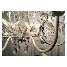 white branch chandelier country style vintage white crystal rococo tree branch chandelier lights white c branch white branch chandelier