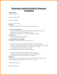 Sample Business Administration Resumes Ataumberglauf Verbandcom