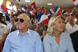 Bildresultat för Jean-Marie Le Pen déclare la guerre à sa fille