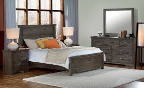 Pine Furniture Bedroom Pine Ridge 5 Piece Queen Bedroom Set Slate Leons