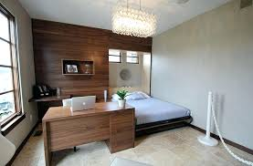 Home office design ideas Masculine Small Bedroom Home Office Design Ideas Contemporary Guest Bedroom Idea With Dedicated Workstation Design Pure Bertschikoninfo Small Bedroom Home Office Design Ideas Bertschikoninfo