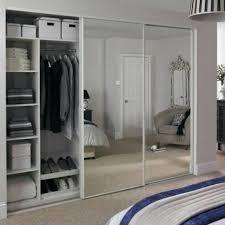 contemporary sliding wardrobe door whiteglass w914mm 534 x 600 49 outstanding 534 x 600 small