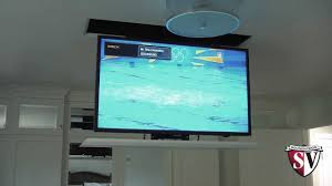 D Drop Down Television Lift Mount Amazing Flat Screen Tv Ceiling