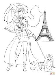 French Style Coloring Page Free Printable Coloring Pages