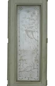 aesthetic movement 19th century european etched glass doors for