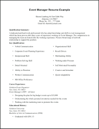 First Resume Examples Basic With No Work Experience Reverse