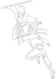 12 Sasuke Lineart Naruto Vs Sasuke For Free Download On Ayoqqorg
