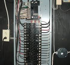 an overview of wiring an electrical circuit breaker panel circuit breaker panel wiring diagram pdf at Home Fuse Box Wiring