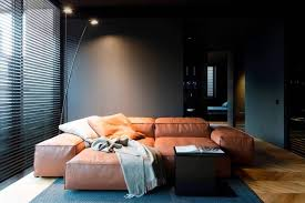 Masculine Interior Design Stunning Man's Space By Line Architects An Atmospheric Bold And Non