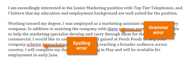 word checking spelling and grammar screenshot of word 2013