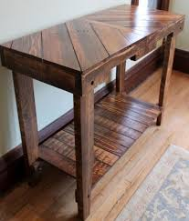 furniture out of wooden pallets. wood pallet table sofa console by wickerhillworkshop furniture out of wooden pallets