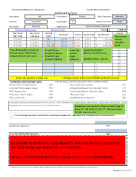 Payroll Forms Payroll Forms Human Resources