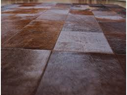 patchwork cowhide rug ideas