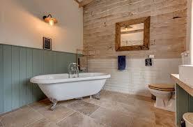 contrasting textureaterials shape the bathroom walls photography adrydog