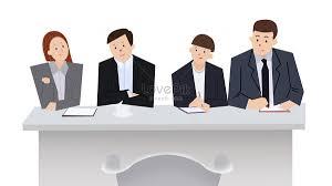 Scenario Interview Job Interview Scenario Illustration Image_picture Free Download