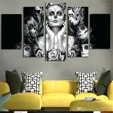 skull wall art nz metal cow