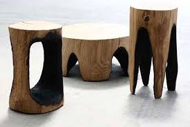 wood design furniture. Natural Wooden Furniture 04 Outdoor Burned For A Dramatic Effect Wood Design
