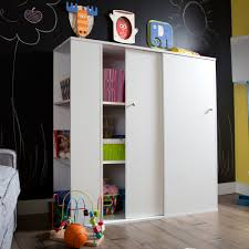 Toy Storage Furniture Living Room South Shore Storit Kids Storage Cabinet With Sliding Doors White
