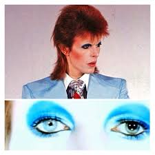 david bowie s life on mars makeup is simply fabulous