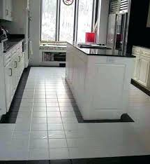 kitchen tiles floor design interior white