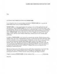 Recommendation Letter For Sorority Resume Cover Letter Template