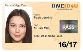 Of Age urgent Card 16 Proof Oneid4u 17