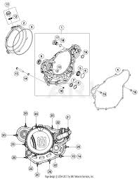 2018 husqvarna fe 450 us clutch cover parts best oem clutch cover parts diagram for 2018 fe 450 us motorcycles