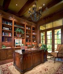superb home office. Superb Rebeccas Office Vogue Miami Traditional Home Decoration Ideas With Beamed Ceiling Beige Built-in I