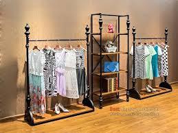 free standing clothes rack floor