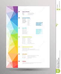 resume new styles sample customer service resume resume new styles new resume trends snagajob resume curriculum vitae stock vector image 55445628