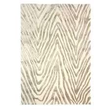 fifth avenue cream zebra print rug regarding rugs design 5 pottery barn brown printed throughout plan zebra rugs