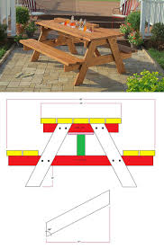 Table Drinks Cooler Best 20 Picnic Table Cooler Ideas On Pinterest Outdoor Ideas