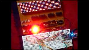 dot matrix display using arduino engineersgarage dot matrix dot