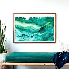 extra large framed art undercurrent emerald ink framed art print ocean surf inside large prepare 8  on extra large ocean wall art with extra large framed art large framed art for sale large abstract wall