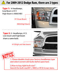 2016 Ram 3500 Fog Light Bulb Details About 9005 Led Headlight Bulbs Lamps High Beam For Dodge Ram 1500 2009 2019 Cool White