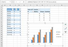 Working With Pivot Charts In Excel Peltier Tech Blog