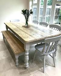 farm style table with bench farm table ideas best farmhouse table ideas on farm style table