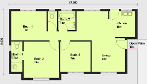 free floor plans. House Plans Building And Free Floor From . 43 3 Bedroom E