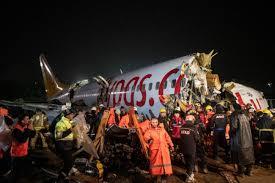 Un avión de pasajeros se rompe en tres partes en Estambul dejando un muerto  y 157 heridos | Internacional