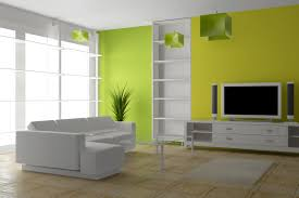 fresh green interior painting ideas for living room