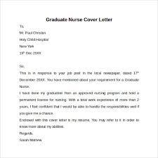 Sample Nurse Cover Letter Musiccityspiritsandcocktail Com